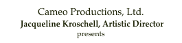 Cameo Productions, Ltd.